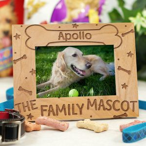The Family Mascot Wood Picture Frame