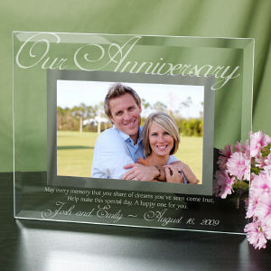 Our Anniversary Glass Picture Frame G929061