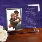 Abernook Godchild Beveled Glass Picture Frame