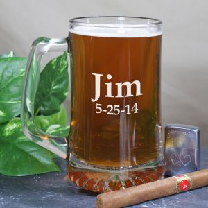 Any Name Sports Glass Mug