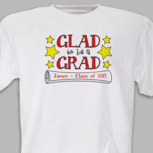 Personalized Graduate T-Shirt