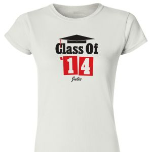 Personalized Class Of Womens T-Shirt