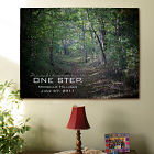 Personalized One Step Inspirational Wall Canvas
