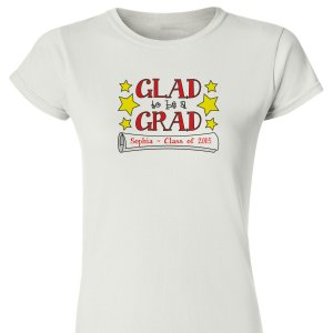 Personalized Graduate Womens T-Shirt