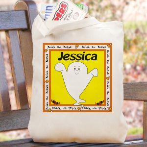 Halloween Character Trick or Treat Bag