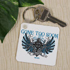 Personalized Gone Too Soon Memorial Key Chain