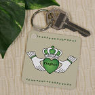 Personalized Irish Claddagh Key Chain