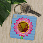 Personalized Happy Mother's Day Photo Key Chain