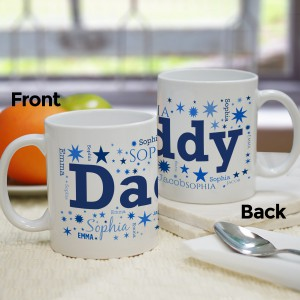 For Him Word-Art Coffee Mug