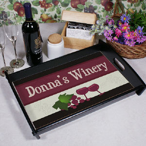 My Winery Personalized Serving Tray 42071ST