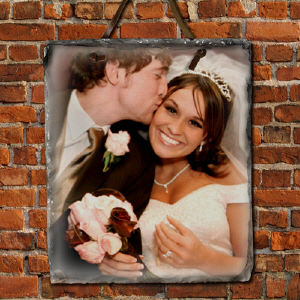 Picture Perfect Personalized Vertical Slate Plaque 63114737