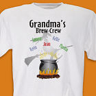 Brew Crew Personalized Halloween T-Shirt