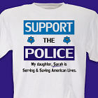 Support the Police T-shirt