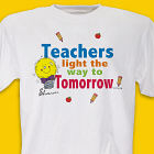 Light The Way Teacher T-shirt
