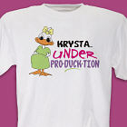 Under ProDUCKtion Personalized Maternity T-shirt