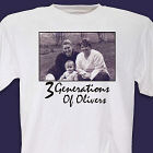 Generations Personalized Photo T-Shirt