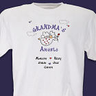 Floating on A Cloud Personalized Angels T-Shirt
