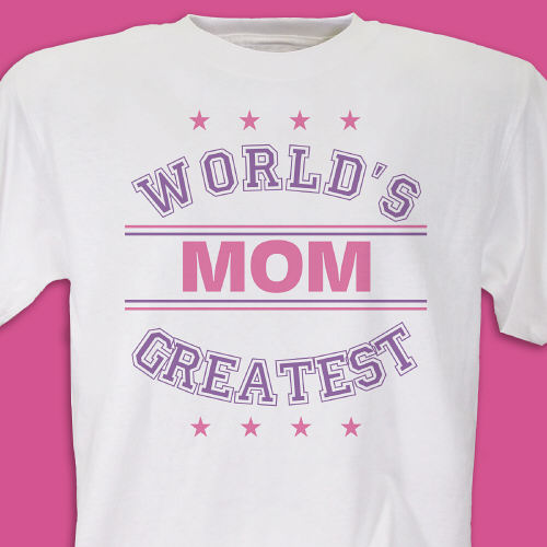 World's Greatest - Purple Personalized T-shirt | Personalized T-shirts