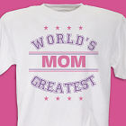 World's Greatest - Purple Personalized T-shirt