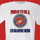 Proud To Be A... Personalized Military T-shirt