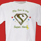 My Super Hero Soldier Personalized Military T-shirt
