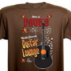 Guitar Lounge Personalized Brown T-shirt 33187x