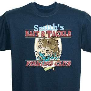 Fishing Club Personalized T-shirt