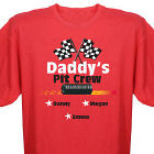 Pit Crew Personalized T-shirt