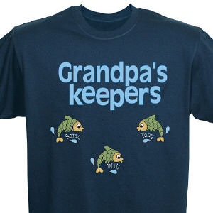 Personalized Keepers Fish T-shirt