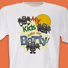 Batty Kids Personalized Halloween T-shirt