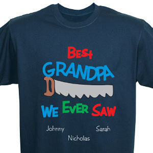 Best We Ever Saw Personalized T-Shirt