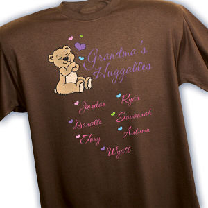 Personalized Huggables T-Shirt