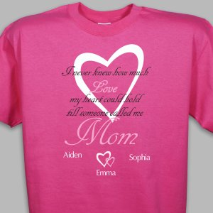 Personalized How Much Love T-Shirt