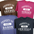 Personalized Property Of Athletic T-Shirt 33852X