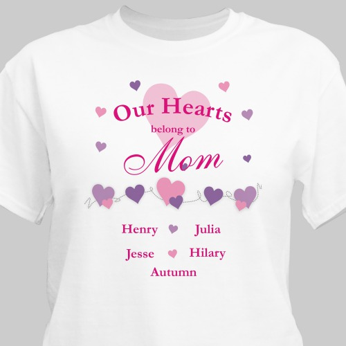Our Hearts Belong To...T-Shirt | Mommy T-Shirts