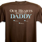 Personalized Our Hearts Belong To Him T-Shirt