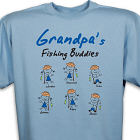 Personalized Fishing Buddies T-Shirt 34274X