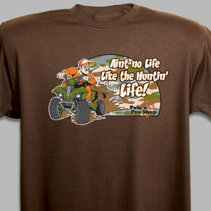 Personalized Huntin' Life T-Shirt