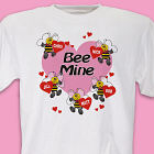 Bee Mine Hearts T-Shirt