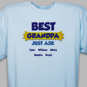 Personalized Best...Just Ask T-Shirt
