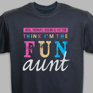 Personalized I'm the Fun One T-Shirt