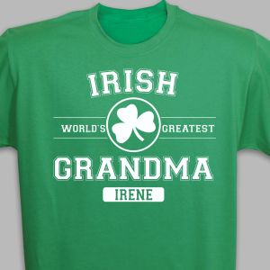 Personalized Irish Grandma T-Shirt
