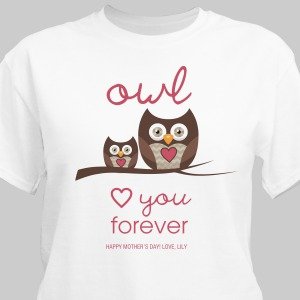 Personalized Love You Forever T-Shirt