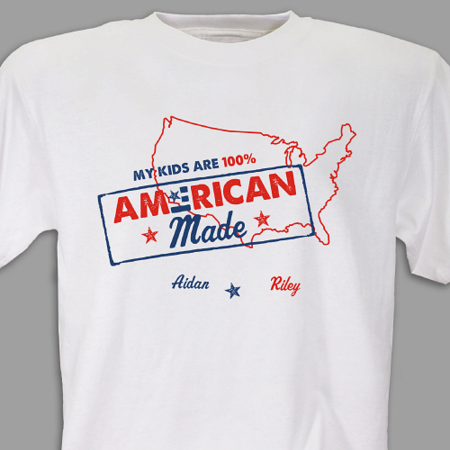 American Pride T-Shirt | Personalized T-shirts