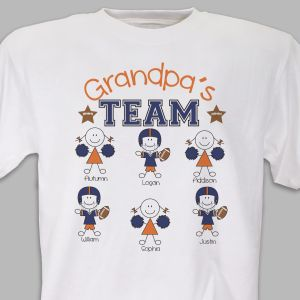 Personalized Football Team T-Shirt