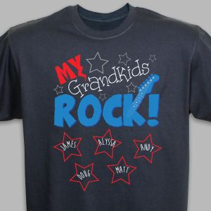 Personalized My Kids Rock T-Shirt