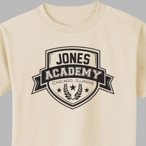 Personalized Academy T-Shirt