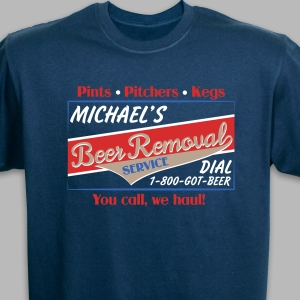 Beer Removal T-Shirt