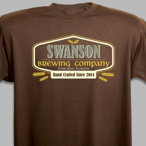 Personalized Brewing Co. T-Shirt