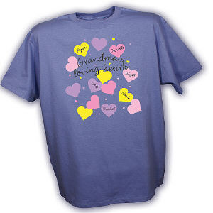 My Loving Hearts Personalized T-shirt